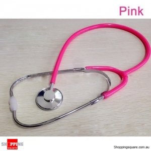 Stethoscope Arm Blood Pressure Heart Rate Blood Vessel Noise Monitor Stethoscope - Pink