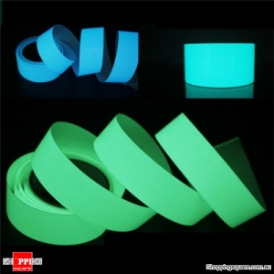 5mx15mm Luminous Tape Self-adhesive Glowing In The Dark Safety Stage Decor Sticker - Blue