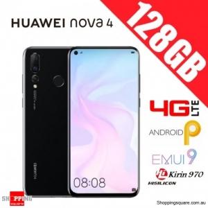 Huawei Nova 4 128GB VCE-L22 Dual Sim Unlocked Smart Phone Black
