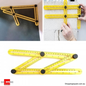 Professional Multi-Angle Template Tool Angle Measuring Tool Layout Tool Ruler