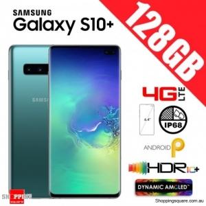 Samsung Galaxy S10 Plus 128GB G975FD Unlocked Smart Phone Prism Green