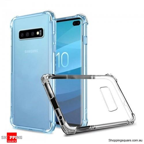 Samsung Galaxy S10 Plus Clear Case Cover Shockproof TPU Bumper