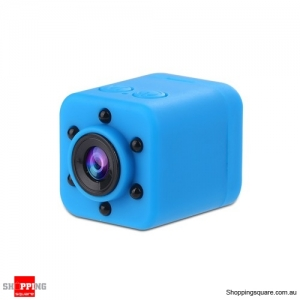 SQ18 Portable HD 1080P Mini Camera LED IR Night Vision Camcorder Sport Outdoor - Blue