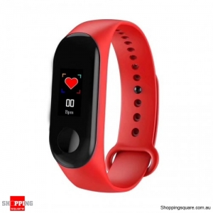 "0.96"" Color Display Waterproof IP67 Sport Smart Watch Bracelet - Black"