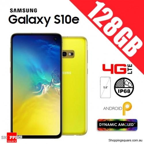 Samsung Galaxy S10e 128GB G970FD Unlocked Smart Phone Canary Yellow