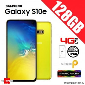 Samsung Galaxy S10e 128GB G970FD Unlocked Smart Phone Canary Yellow