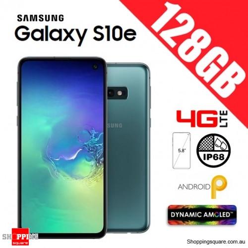 Samsung Galaxy S10e 128GB G970FD Unlocked Smart Phone Prism Green