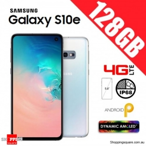 Samsung Galaxy S10e 128GB G970FD Unlocked Smart Phone Prism White