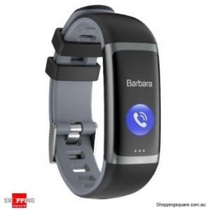 0.96 TFT Color Display Waterproof IP67 Fitness Smart Bracelet Sport Watch - Gray