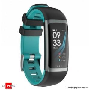 0.96 TFT Color Display Waterproof IP67 Fitness Smart Bracelet Sport Watch - Green
