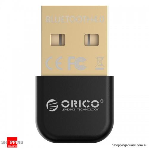 ORICO BTA-403 Mini Bluetooth 4.0 24K Gold-Plated Adapter for PC Laptop - Black