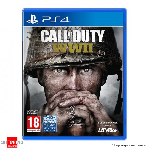 Call of Duty WWII World War II PS4 Console Video Game