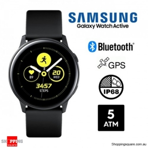 Samsung Galaxy Watch Active R500 Bluetooth Smart Watch Black