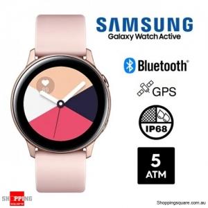 Samsung Galaxy Watch Active R500 Bluetooth Smart Watch Rose Gold