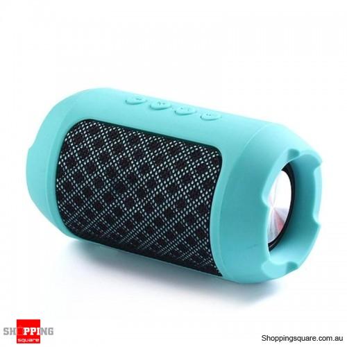 Portable Wireless Bluetooth Speaker Hands free Waterproof Outdoors Speaker - Green