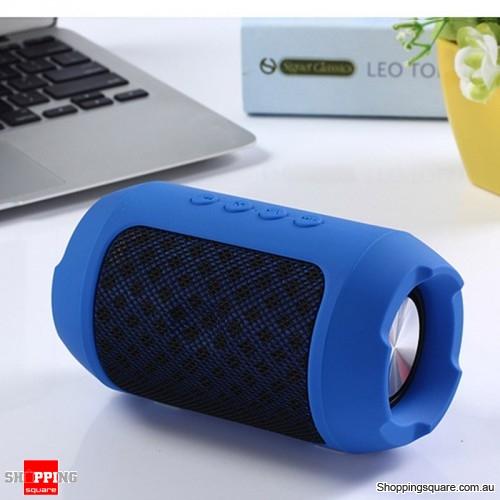 Portable Wireless Bluetooth Speaker Hands free Waterproof Outdoors Speaker - Blue