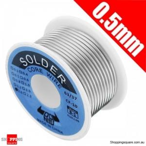100g Tin Lead Alloy 63/37 Rosin Core Flux Reel Welding Line Solder Wire - 0.5mm
