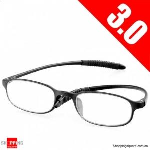 Ultralight Unbreakable Resin Best Reading Glasses Pressure Reduce Magnifying - 3.0