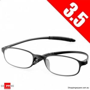 Ultralight Unbreakable Resin Best Reading Glasses Pressure Reduce Magnifying - 3.5