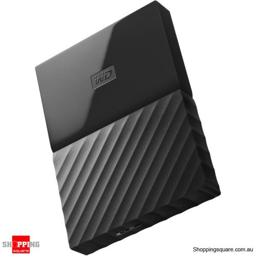 Western Digital WD My Passport 1TB Portable Hard Drive Disk HDD USB 3.0 Black