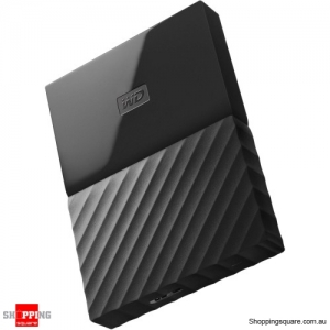 Western Digital WD My Passport 1TB Portable Hard Drive Disk HDD USB 3.0 Black