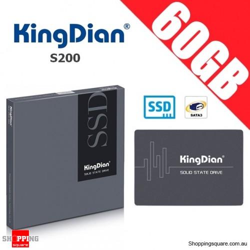 KingDian S200 60GB SATA III SSD Solid State Drive