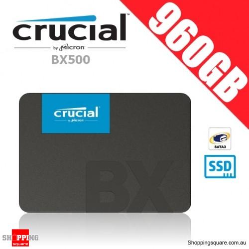 Crucial BX500 960GB 3D NAND SATA 2 5