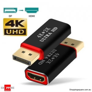 4K Display Port DP Male to HDMI Female Adapter