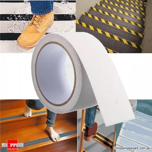 5cm x 3M Anti Slip Adhesive Stickers Floor Safety Non Skid Waterproof Heavy Duty Tape - White