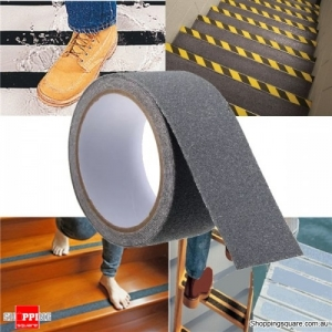 5cm x 3M Anti Slip Adhesive Stickers Floor Safety Non Skid Waterproof Heavy Duty Tape - Gray