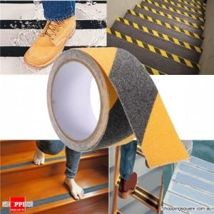 5cm x 3M Anti Slip Adhesive Stickers Floor Safety Non Skid Waterproof Heavy Duty Tape - Black & Yellow
