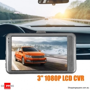 3 inch Full HD 1080P Auto Digital Video Recorder Car DVR Camera