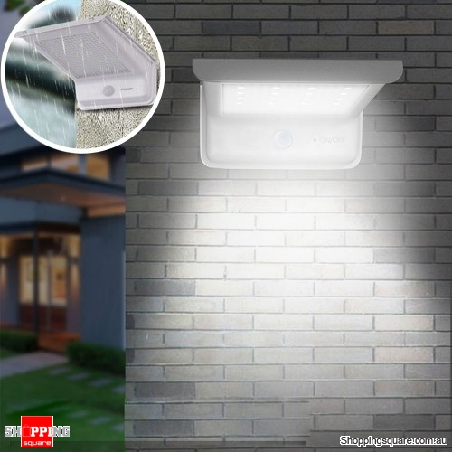 Solar 20 LED Solar Waterproof Motion Sensor Flood Light Outdoor Garden Security Wall Lamp
