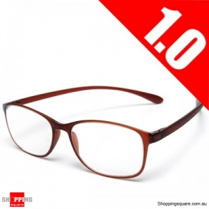 High Grade Unbreakable Resin TR90 Reading Glasses - 1.0