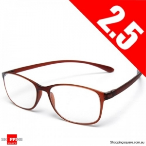 High Grade Unbreakable Resin TR90 Reading Glasses - 2.5