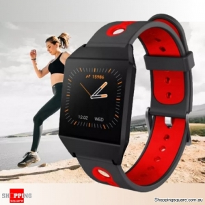 1.3'' IPS Color Screen Smart Watch Sports Smart Bracelet - Red