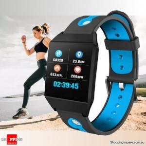 1.3'' IPS Color Screen Smart Watch Sports Smart Bracelet - Blue