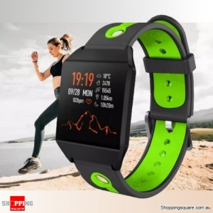 1.3'' IPS Color Screen Smart Watch Sports Smart Bracelet - Green