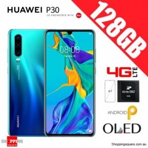 Huawei P30 128GB ELE-L29 4G LTE Dual Sim Unlocked Smart Phone Aurora