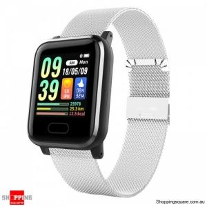 1.3'' IPS Color Touch Screen Waterproof Smart Watch Sport Bracelet - Silver