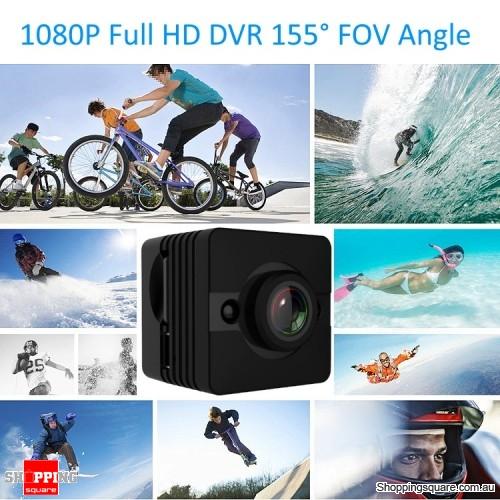 Mini 1080P Full HD DVR Camera 155 Degree FOV Angle Loop-cycle Recording Night Vision