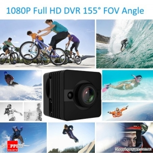 Mini 1080P Full HD DVR Camera 155 Degree FOV Angle Loop-cycle Recording Night Vision