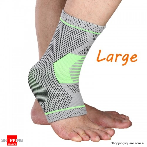 Breathable Ankle Support Comfort Foot Anti Fatigue Compression Sport Ankle Guard Fitness Protective Gear - Large
