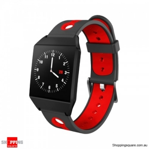 1.3 IPS GPS Smart Watch Waterproof Heart Rate  Smart Bracelet - Red