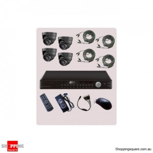 4 Channel DVR CCTV Surveillance Camera Combo Kit KT42-ST20S42