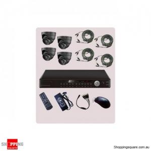 4 Channel DVR CCTV Surveillance Camera Combo Kit KT42-ST20S42
