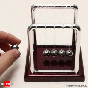 Newton's Cradle Steel Balance Ball Physics Pendulum Toys Belief
