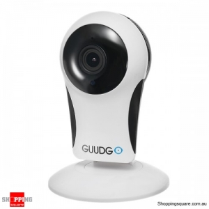 960P 110° Cloud WIFI IR Night Vision Motion Detection IP Camera - White