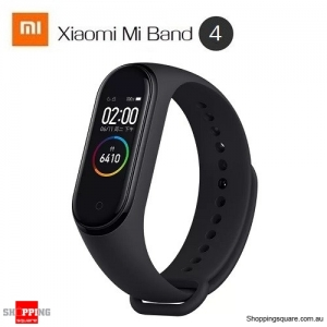 Original Xiaomi Mi band 4 AMOLED Color Screen Wristband bluetooth 5.0 Smart Bracelet Black Colour
