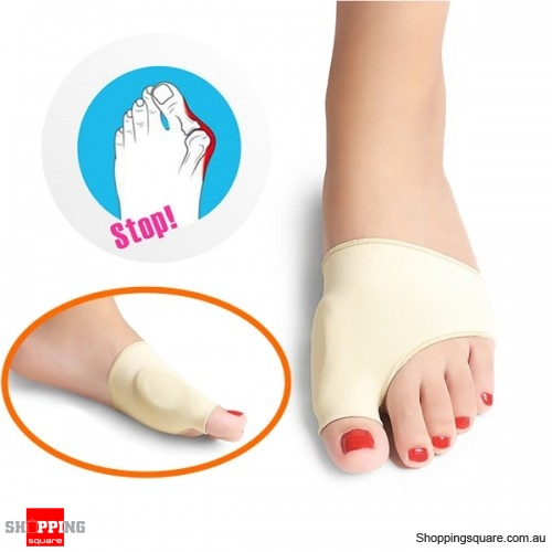 1 Pair Elastic Soft Painful Bunion Corrector Breathable Full Care Toe Pain Belief Remover
